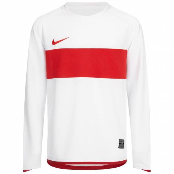 Nike Team Kinder Langarm Trikot 336583-105