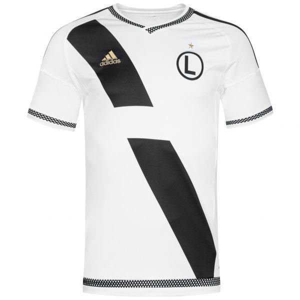 Herren Legia Warschau adidas Herren Heim Player Issue Trikot S88998 weiß 04055015377704