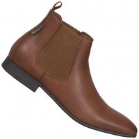 BEN SHERMAN Ashorne Fashion Chelsea Boots Herren Schuhe dark tan