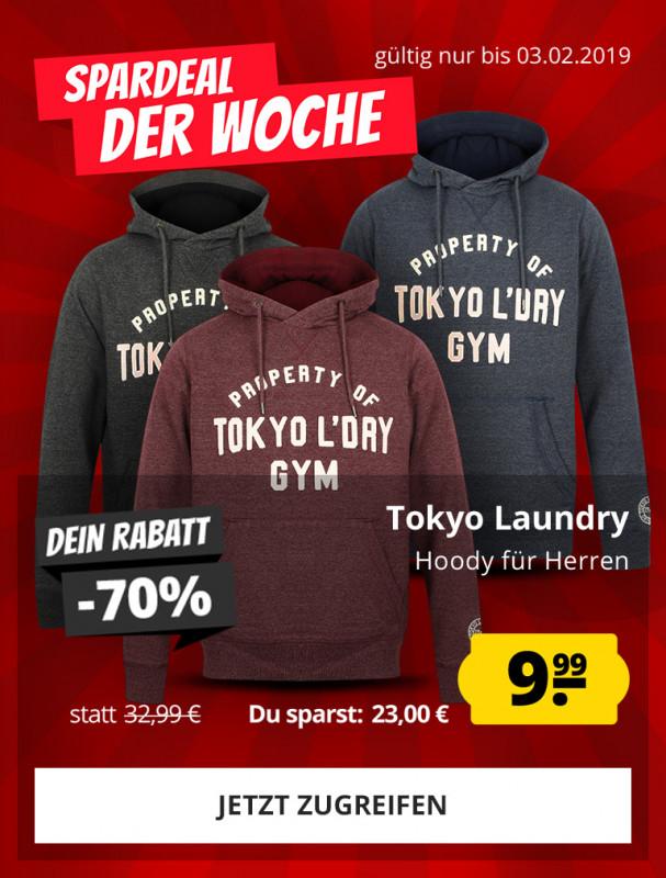 Tokyo Laundry Hoody für Herren für nur 9,99 € günstig online kaufen bei  SportSpar e70c842200