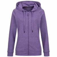 RUSSELL Full Zip Damen Kapuzen Sweatjacke 0R284F0-Purple-Marl