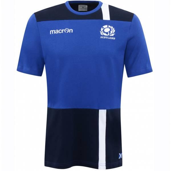 Schottland SRU macron Rugby Herren Freizeit Shirt 58080338