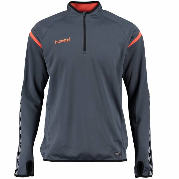 hummel Authentic Charge 1/4-Zip Kinder Trainings Sweatshirt 133406-8730