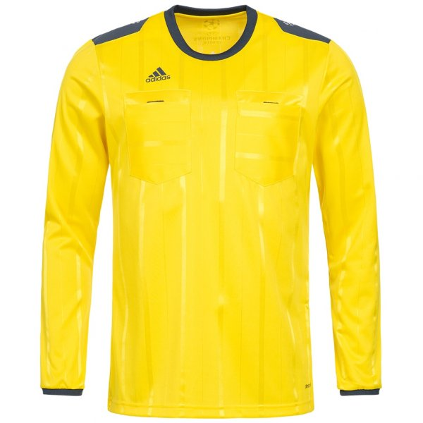 Herren adidas UEFA Champions League Schiedsrichter Trikot AH9818 gelb 04055015624440
