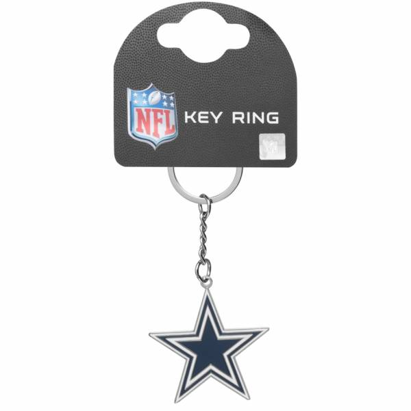 Dallas Cowboys NFL Wappen Schlüsselanhänger KYRNFLCRSDC