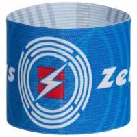 Zeus wendbare Kapitänsbinde Blau Weiß