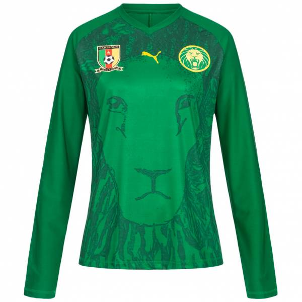 Cameroon PUMA Women Long-sleeved Jersey 740450-04