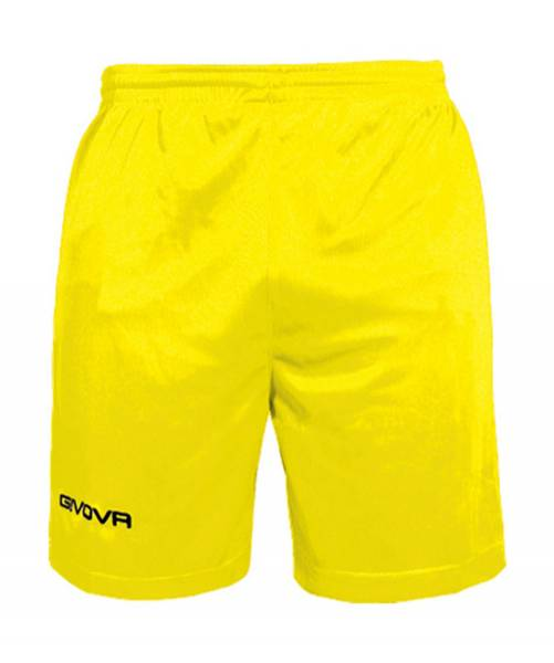 Givova Fussball Short Ibiza gelb