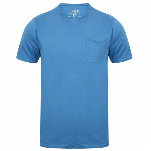 Tokyo Laundry Zella Cotton Pocket Men's T-Shirt 1C10284 Federal Blue