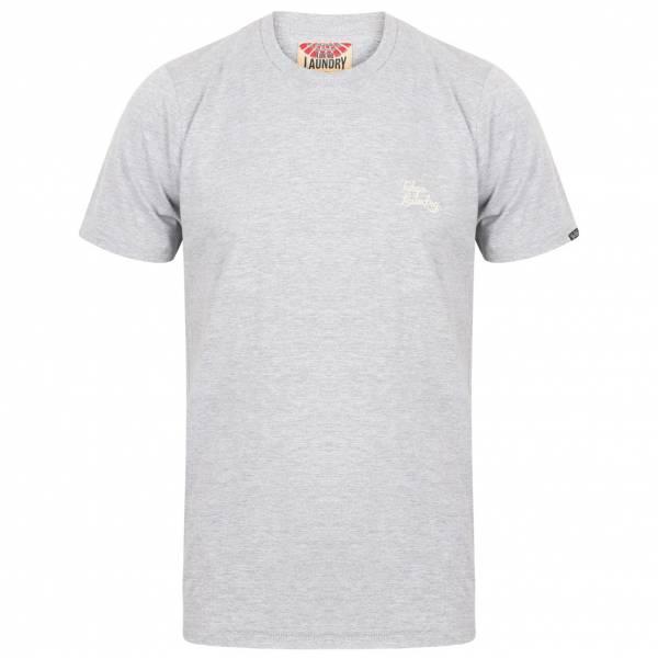 Tokyo Laundry Montecarlo Crew Neck Herren T-Shirt 1C10912AR Light Grey