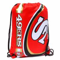San Francisco 49ers NFL Drawstring Backpack Gym Bag LGNFLCLGYMSF
