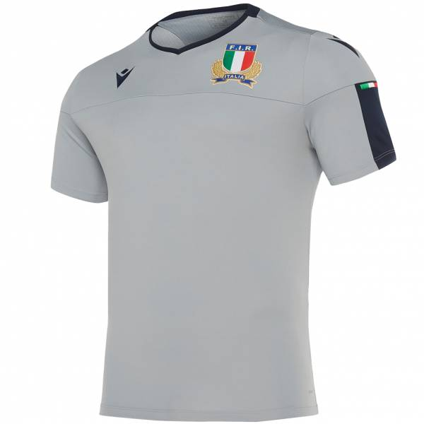 Italien FIR macron Rugby Herren Trainings Trikot 58100117