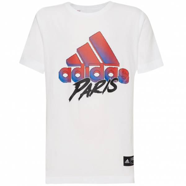 adidas Paris Badge of Sport Kinder T-Shirt GF0320