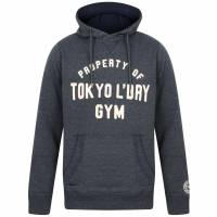 Tokyo Laundry Keskustie Brush Back Fleece Mens Sweater 1D11498 Black Iris