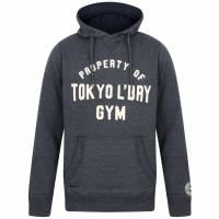 Tokyo Laundry Keskustie Brush Back Fleece Herren Pullover 1D11498 Black Iris