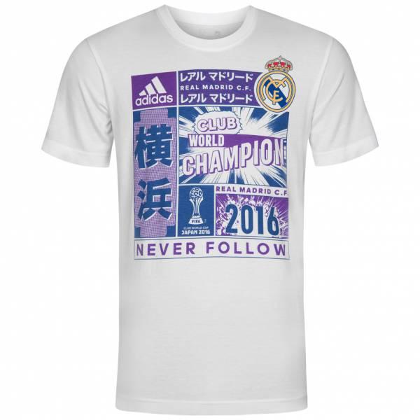 Real Madrid adidas Club World Champion Klub-WM T-Shirt CV6678
