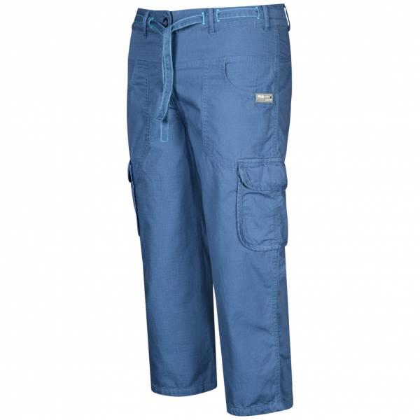 Herren FILA Herren Knee Pant Shorts Herren 7/8 Cargo Hose U90358-477 blau|08300313444280