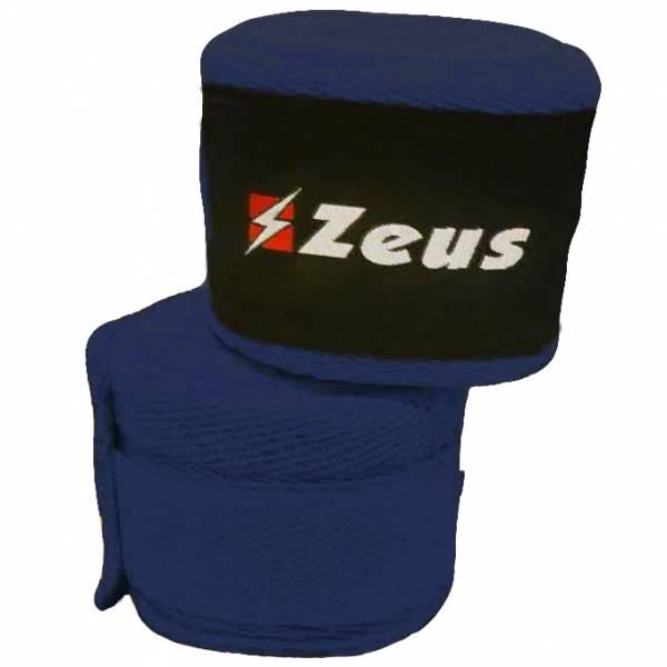 Zeus Venda de boxeo azul marino
