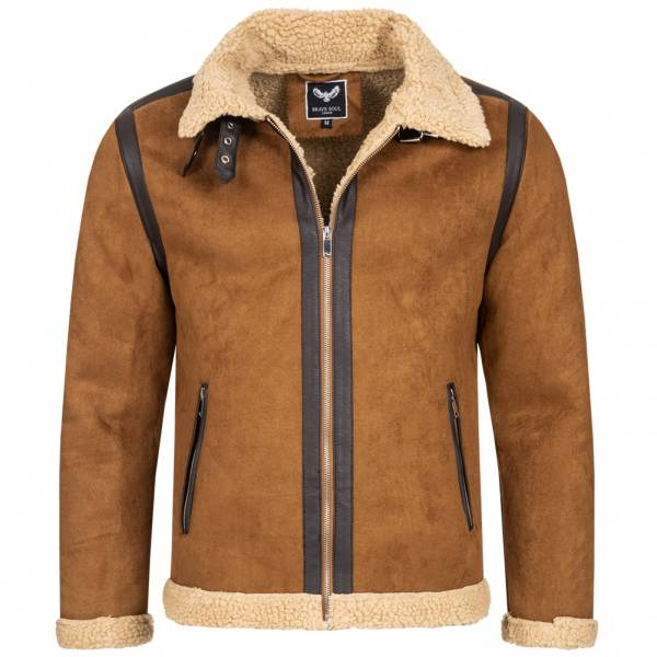 BRAVE SOUL Jasper Men Winter Jacket MJK-JASPER TAN