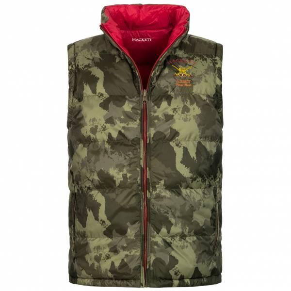 Hackett London Army Camouflage Herren wendbare Weste HM402235-0AA