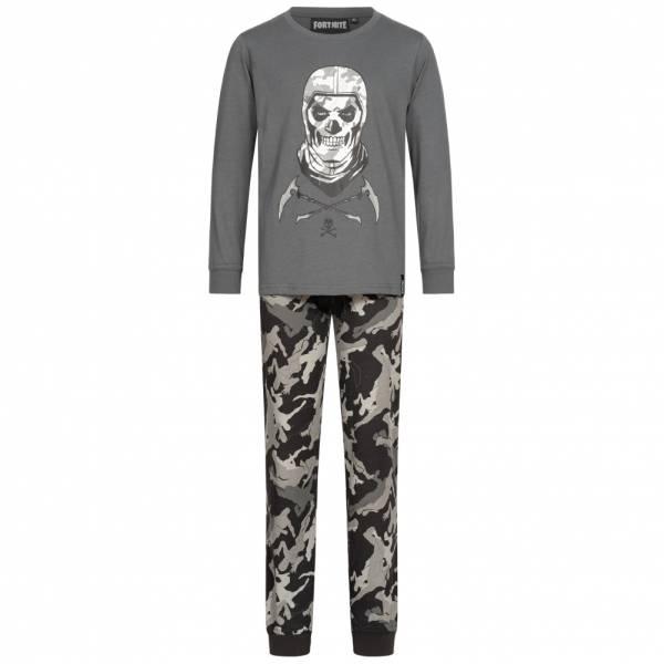 FORTNITE Skull Trooper Kinder Pyjama 2-teilig FORT-3-1216