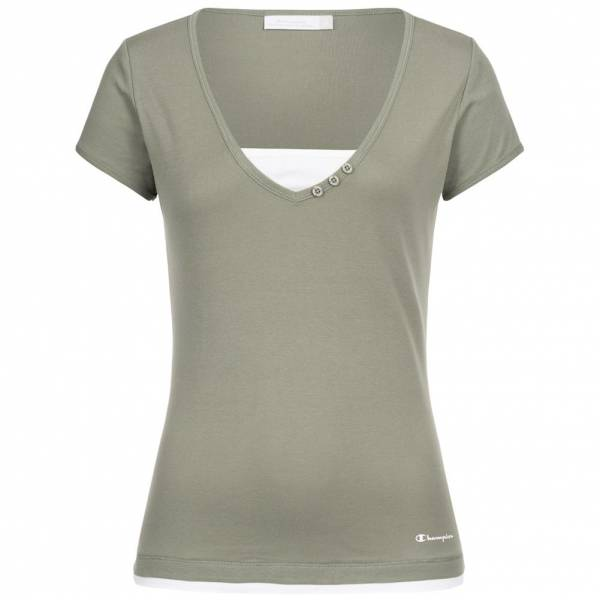 Champion Damen V-Neck Tee T-Shirt 105893-3559