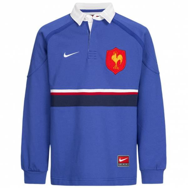 Frankreich FFR Nike Kinder Rugby Heim Trikot 462377-493