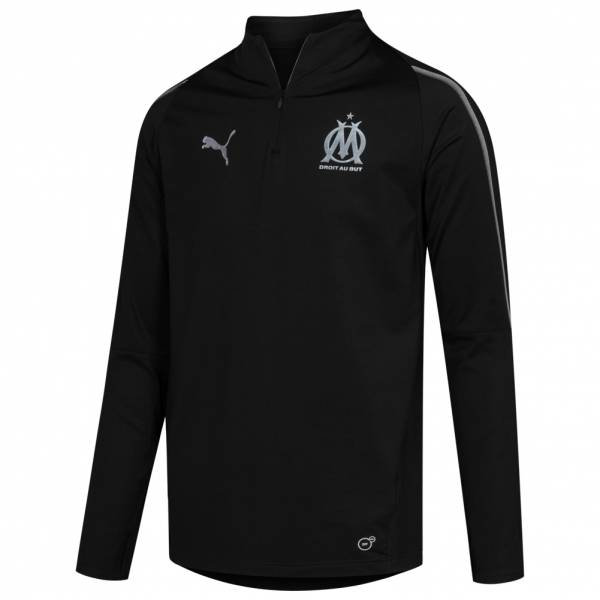 Olympique Marseille PUMA 1/4-Zip Trainings Sweatshirt 753984-06