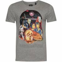 GOZOO x Star Wars 40 Jahre Herren T-Shirt GZ-9-STA-925-M-GM-1-M