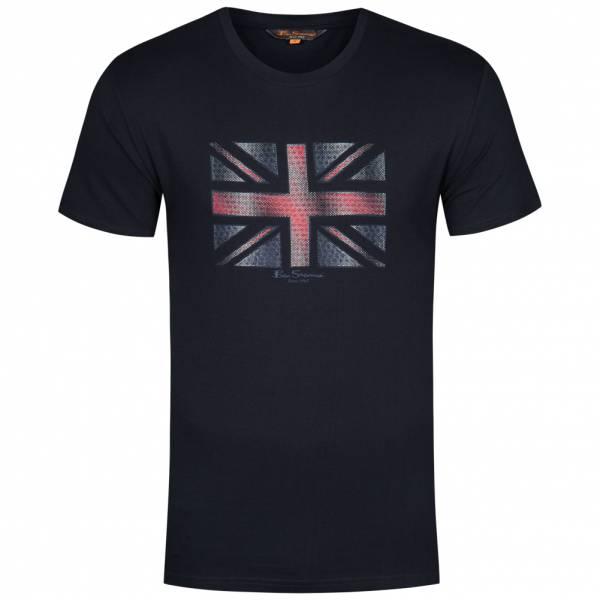 BEN SHERMAN Union Jack Tee Herren T-Shirt 0050899-170