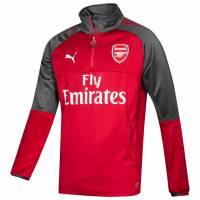 FC Arsenal London PUMA 1/4 Zip Herren Trainings Sweatshirt 751703-03