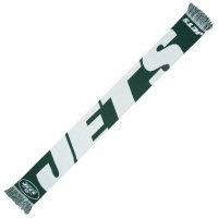 New York Jets NFL Scarf Wordmark Fan Schal SVNF14WMNJAM