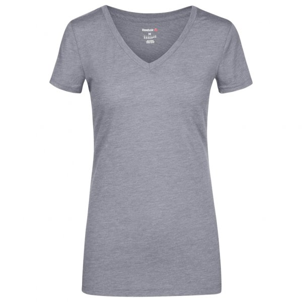 Reebok Global Blank V-Neck Damen Fitness T-Shirt AJ8012
