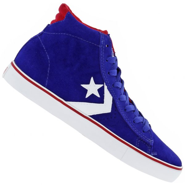 Converse All Star Pro Leather Suede Leder Sneaker 135658C-438