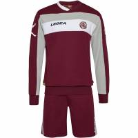 AS Livorno Calcio Legea Herren Langarm Trainings Trikot Set