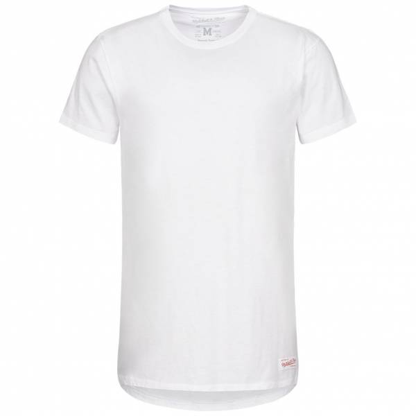 Mitchell & Ness Long Lenght Tailored Men's T-Shirt LONGLENGTHTEE-WHT