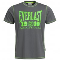 Everlast Big Logo T-Shirt charcoal/lime EVR8850