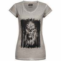 GOZOO x Star Wars Chewbacca Damen T-Shirt GZ-1-STA-496-F-OD-2