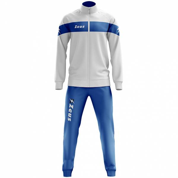 Zeus Tuta Apollo Heren Trainingspak wit blauw