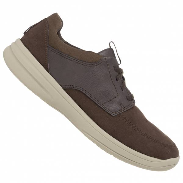 Clarks Step Stroll Edge Slip On Herren Leder Schuhe 261489787