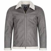 BRAVE SOUL Simmons Men Winter Jacket MJK-SIMMONS GRAY