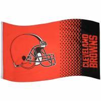 Cleveland Browns NFL Fahne Fade Flag FLG53NFLFADECL