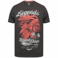 South Shore Legends Herren T-Shirt 1C12701 Charcoal Marl