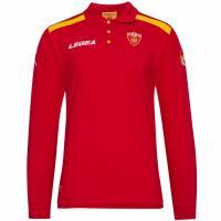 Montenegro Legea Herren Langarm Polo-Shirt