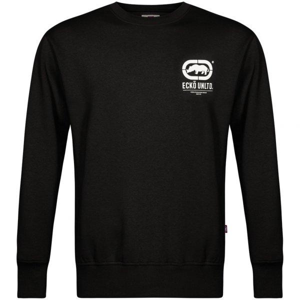 ECKO Unltd. Smart Herren Crew Sweatshirt ESK4163 Anthracite