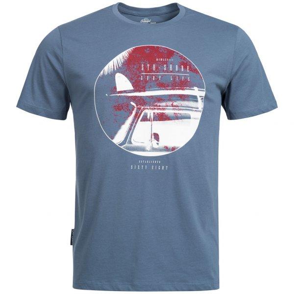 Sth. Shore Surf Car Herren T-Shirt 1C9944 Worn Denim