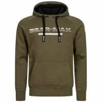 BEAR MAX Kamchatka Hoodie Herren Kapuzen Sweatshirt BTG00012-KHA