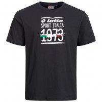 LOTTO Herren T-Shirt Sport Italia Tee schwarz