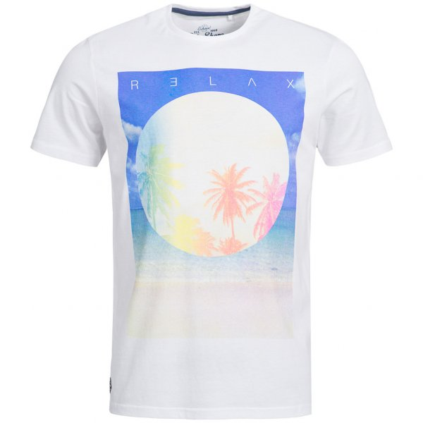 Sth. Shore Diskpalm Herren T-Shirt 1C9188 Optic White