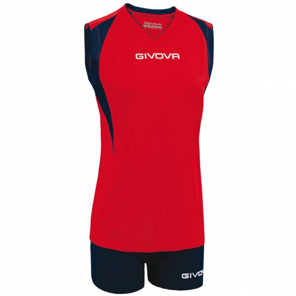 Givova Kit Spike Femmes Ensemble de volley KITV07-1204